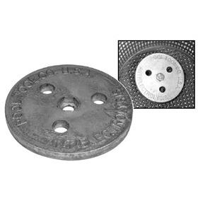 ZINC ANODE WEIGHT